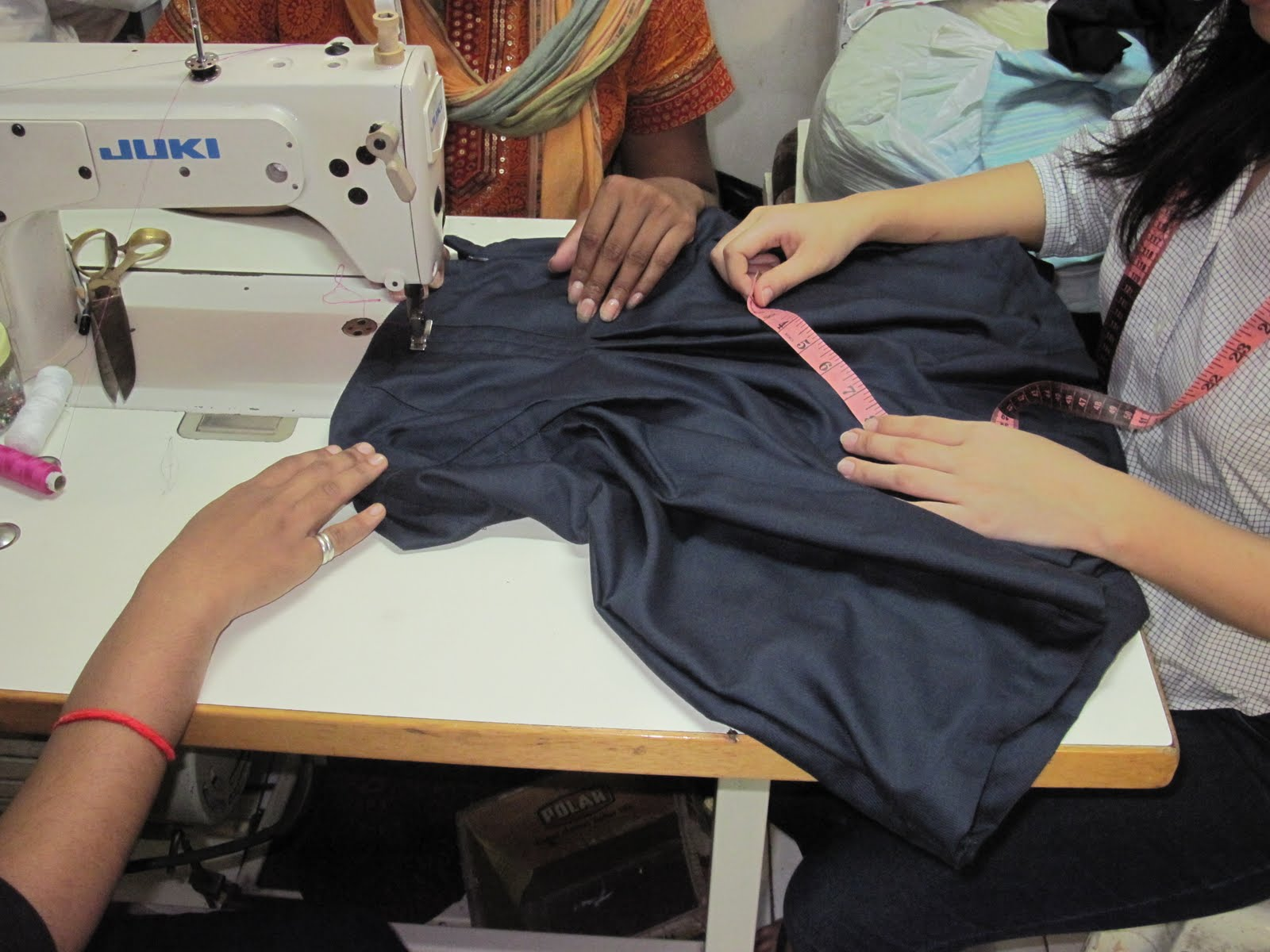 Tailoring class in